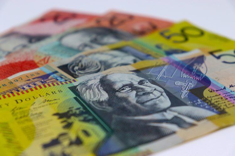 australian money, 50 dollars